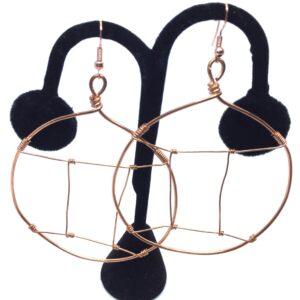 Gemini Hoop Earrings