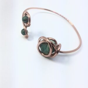 Infinity trinity -Turquoise Bracelet