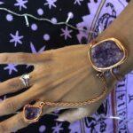 Amethyst Cluster Goddess Bracelet /Ring