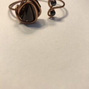 Infinity Trinity - Shungite x Magnetite Bracelet
