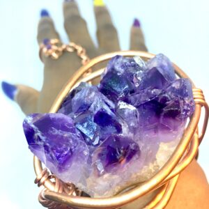 Purple Goddess Bracelet