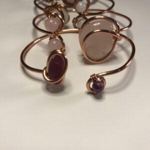Ruby Copper Bracelet