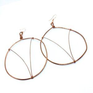 Aries Hoop Earrings