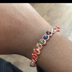Chakra Tennis Bracelet
