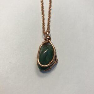 African Jade (Budstone) Chain