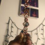Copper Royalty Wand - Fluorite