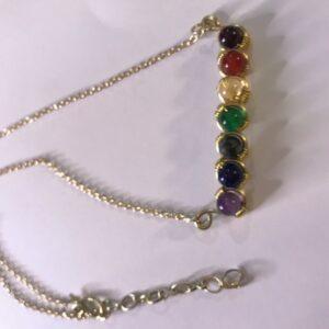 Brass Chakra Necklace