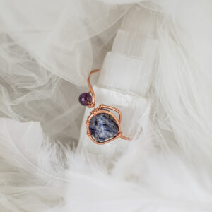 Amethyst + Sodalite Bracelet