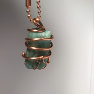 Emerald Wrapped Chain