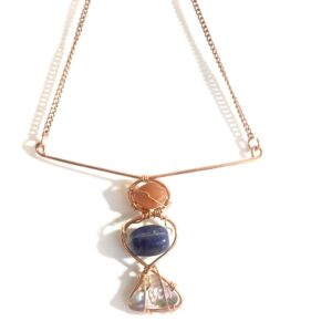 Moonstone Trinity - Necklace