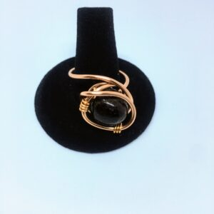 Chunky Garnet Ring